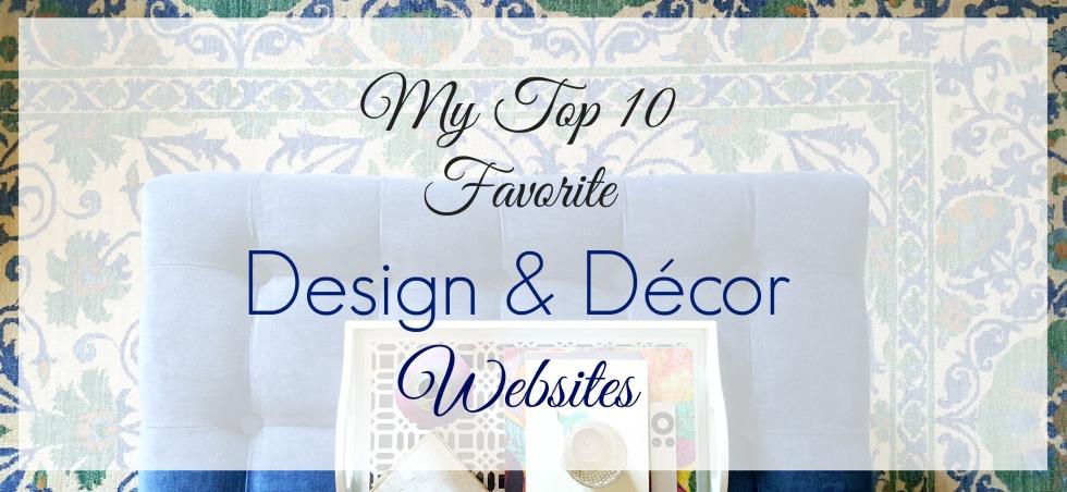 Design & Decor Websites