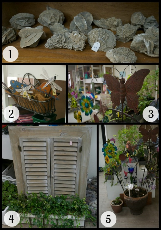 Garden Art Collage