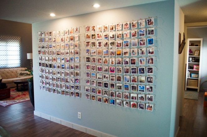 Erlina's Wall of Pictures
