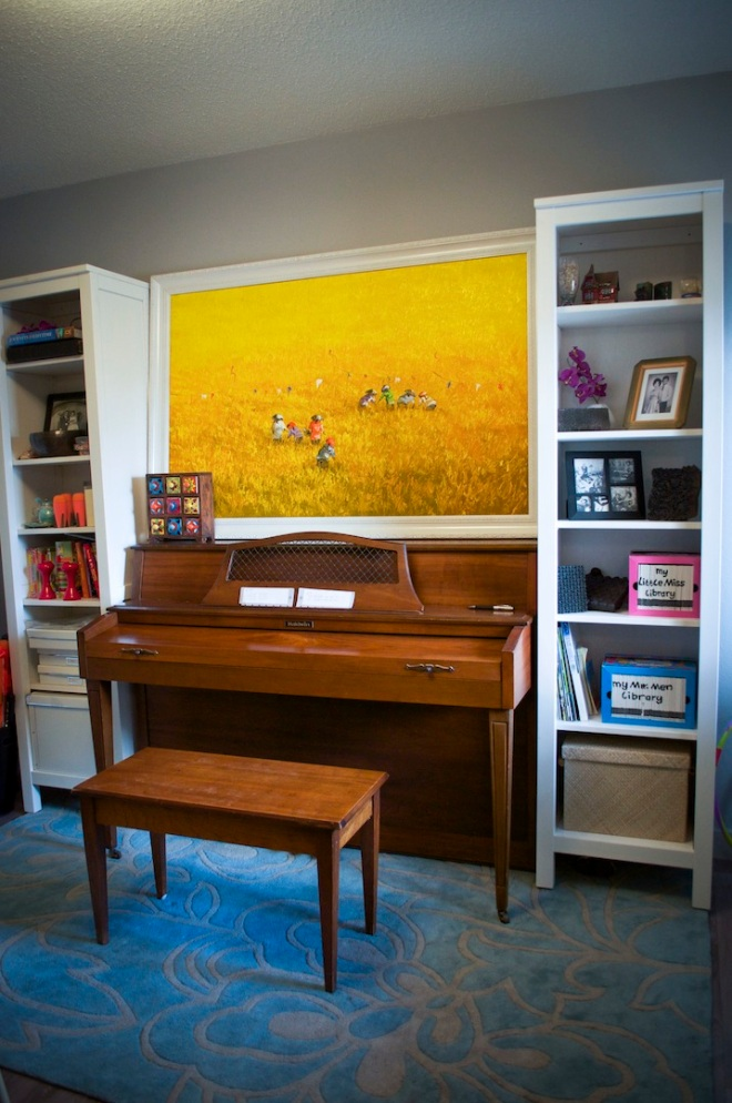 Erlina's piano/kids play room