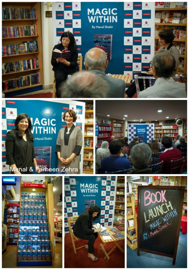 Magic Within Book Launch at Liberty Books in Karachi, Pakistan