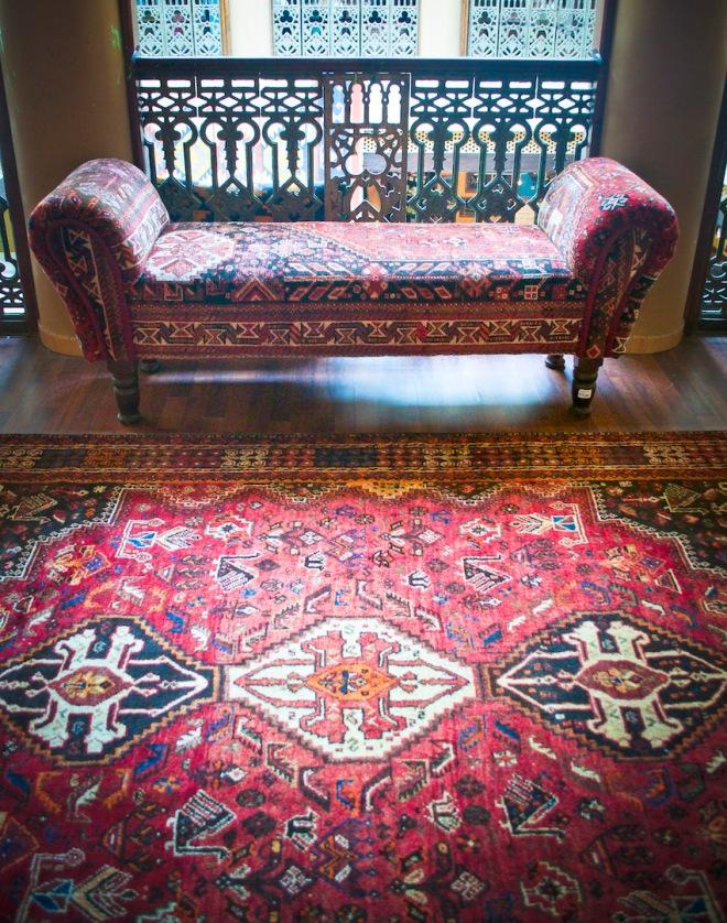 Carpet & Ottoman