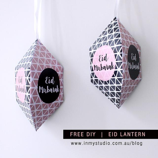 Eid Mubarak Lanterns
