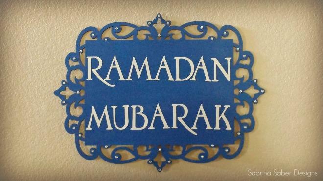 Ramadan Mubarak Final Sign