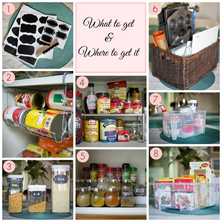 Kitchen Pantry Organizing Tools