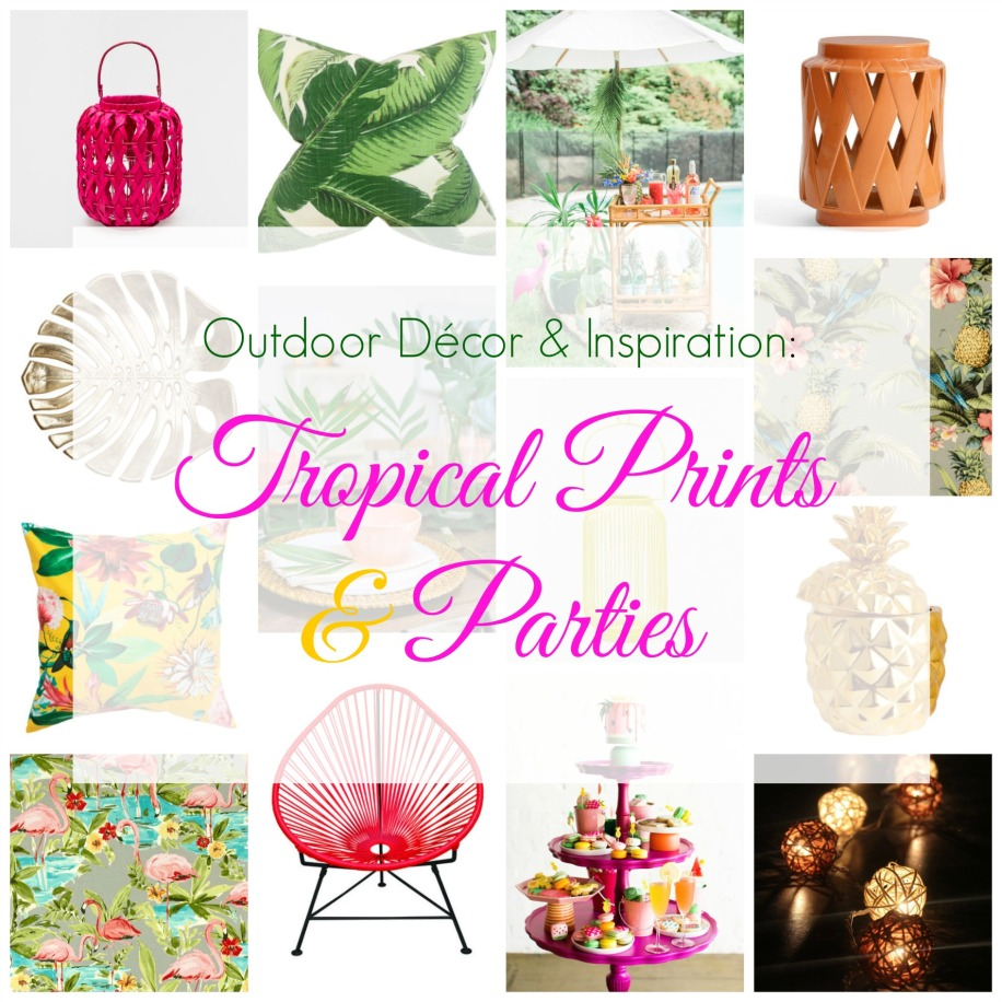 Tropical Prints & Parties