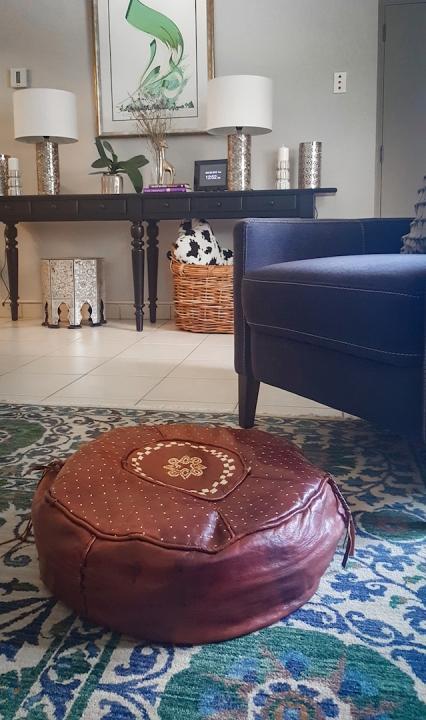 Nigerian Floor Pouf