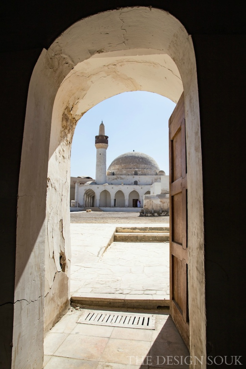 The mosque in Ibrahim Palace