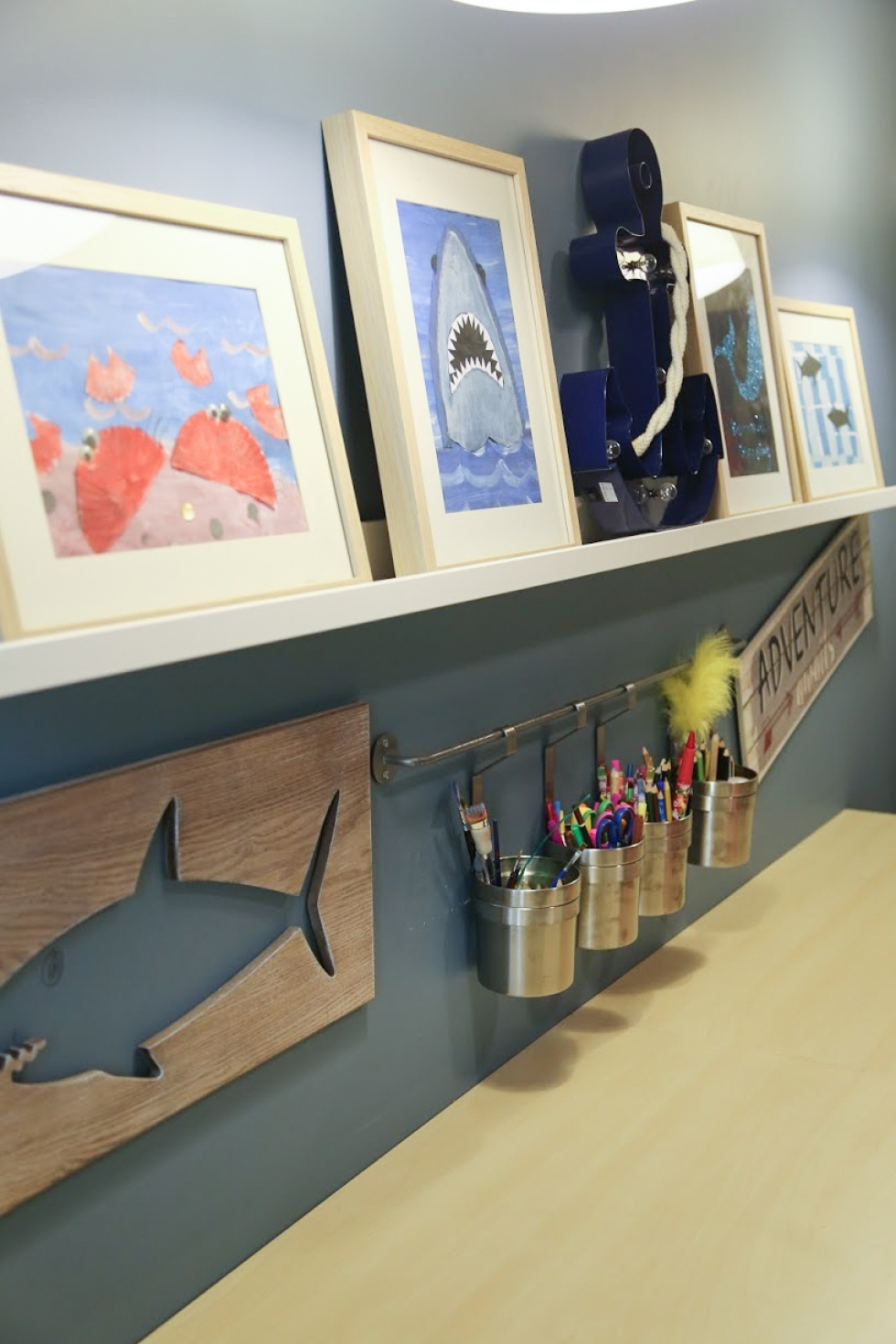 THE DESIGN SOUK | www.thedesignsouk.com | An Adorable Sea World Themed Kids Room